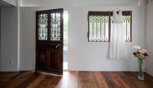 アンティークドア&ガラス戸施工事例|アンティーク建具で空間を演出したスタジオ